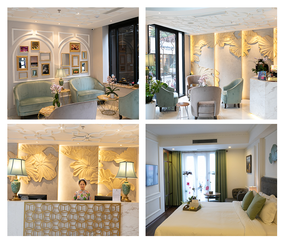 Impressions of the Hotel Allure in Hanoi